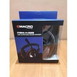 MICRO CASQUE USB MACRO H-528